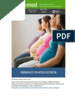 Embarazo en La Adolescencia 2018