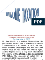 Income Taxation 1