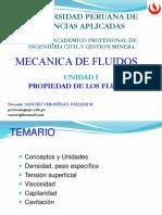 Unidad 1-b Mec Fluidos-upc 2018-1