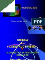 Critica Al Constructivismo