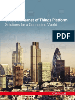 Oracle's Internet of Things Platform