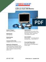 Sales Sheet - Dash 4000