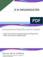 Unidad III Organización