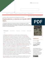 Exploradores y Colonos en Aysén (1870-1927) - Memoria Chilena, Biblioteca Nacional de Chile