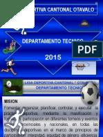 Caracterizacion de Un Entrenador, Perfil 2015 Ok..