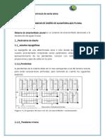 Criterios Basicos de Diseño de Alcantarillado Pluvial