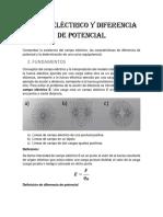 Campo eléctrico y diferencia de potencial PRACTICA (3)