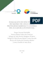 Evaluación de Efectividad de Manejo de Cinco APMC to PDF FINAL 2011-2-1