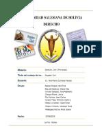 Informe Registro Civil