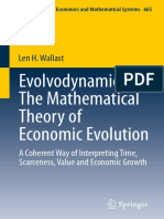 teoria de la evolucion economica