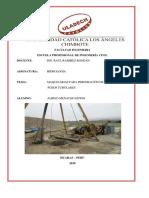 Equipos y Maquinarias Para Excavacion de Pozos