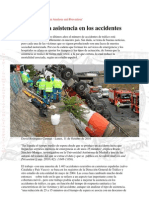 Afinando la asistencia en los accidentes según Accident Analysis and Prevention
