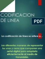 Codificacion de Linea
