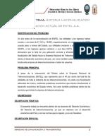 HISTORIA NACIONALIZACION Y SITUACION ACTUAL DE ENTEL S.A.