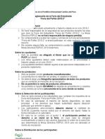 Reglamento pollito 2010-2