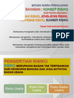 Materi 1 Manajemen Risiko