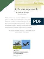 La OTAN y la «intercepción» de aviones rusos, por Valentin Vasilescu
