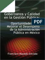 Gobernanza y Calidad en la Gestión Pública- Oportunidades para Mejorar el Desempeño de la Administración Pública en México.pdf