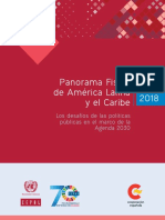 CEPAL Panorama Fiscal 2018