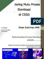MONITORING MUTU PROSES STERILISASI