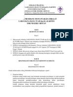 Tata Tertib Sidang Musyawarah Ambalan