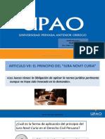 TEMA N°5 EL PRINCIPIO DEL IURA NOVIT CURIA