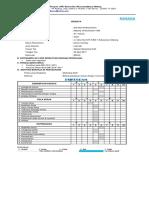 Format Laporan Binus-marketing Taff