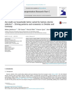 Are Multicar Households Better Suited for Battery Electric Vehicles, Driving Patterns and Economics in Sweden and Germany