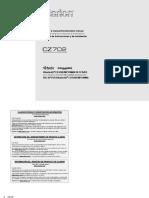 CZ702 Manual