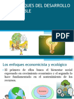 Los Enfoques Del Desarrollo Sustentable