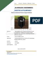 Manual de Operacion y Mantenimiento biodigestores