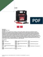 Telwin Pro Start 2824 12-24V Instrucciones