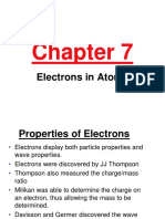 161 Ch 7 Electrons