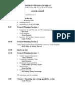 Vision Retreat Oct2010 Agenda