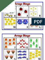 arrays bingo
