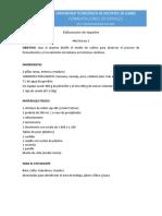 P5. Elaboración de tepache