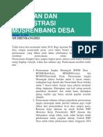PANDUAN DAN ADMINISTRASI MUSRENBANG DESA.docx