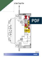 Material Schematic Hydraulic System Motor Grader 16h Caterpillar
