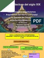Historicismos y Eclecticismos Present.