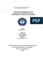 Sejarah Perkembangan Pelayanan Kebidanan Di Indonesia Dan Luar Negeri