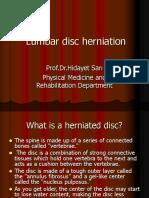 Lumbar disc herniation.ppt