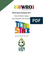 WRO 2017 ARC Tetrastack Rules
