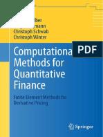 Computational Methods for Quantitative Finance 2013