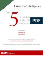 NonVerbal Website Intelligence