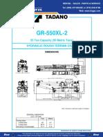 Tadano GR 550XL