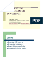 An Overview of E-learning in Vietnam