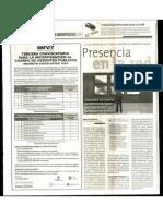 TERCERA CONVOCATORIA PARA LA INCORPORAClON AL CUERPO DE GERENTES PUBLICOS DECRETO LEGISLATIVO 1024