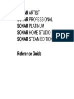 SONAR Reference Guide