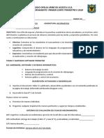 Plan de Mejoramiento INF 600