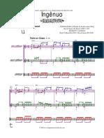 Pixinguinha - Carinhoso Versao 09 Arr Zuza Rodrigues Partitura